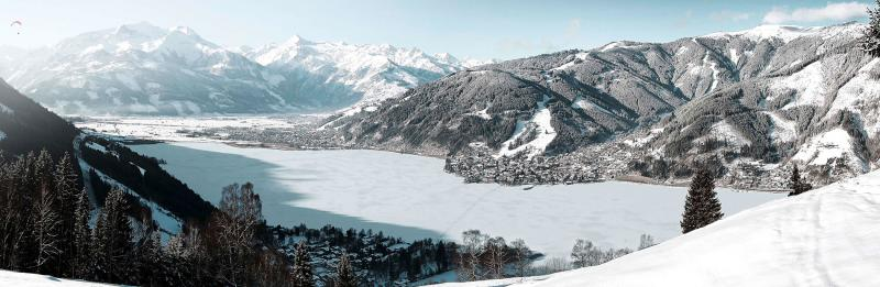 Zell am See - Kaprun Winterpanorama