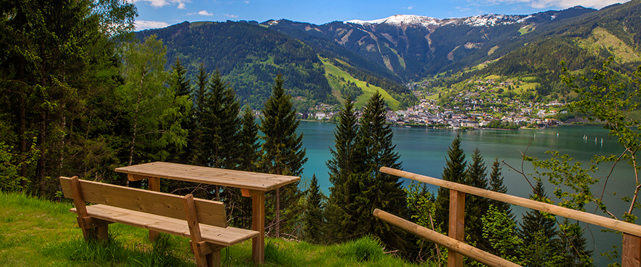Sommerurlaub in den Schwaiger Appartements am Salzburger Land in Zell am See