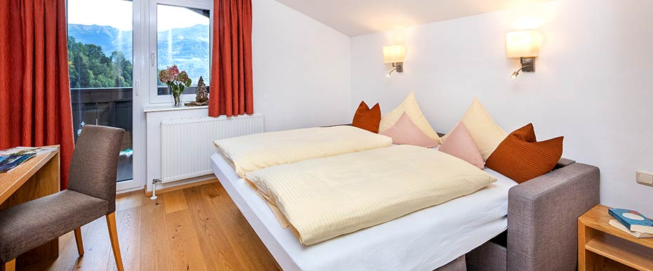 Schwaiger Appartements in Zell am See | Appartement Schmittenblick für 2 – 4 Personen